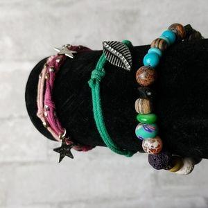 Set of 3 Small Bracelets